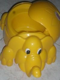 Un bel vasino a forma di elefantino