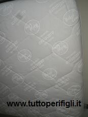 materasso per lettino