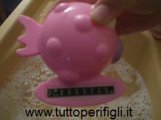 termometro per il bagnetto
