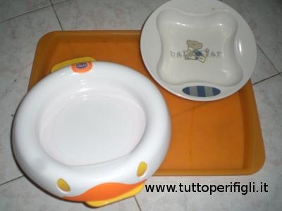 esempi di piatti per la pappa