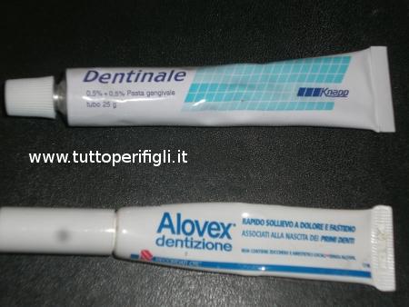 dentinale con e senza analgesico