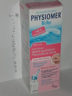 Physiomer spray per la pulizia del naso