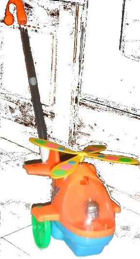 elicottero giocattolo
