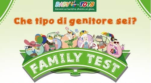 family test regala buoni sconto