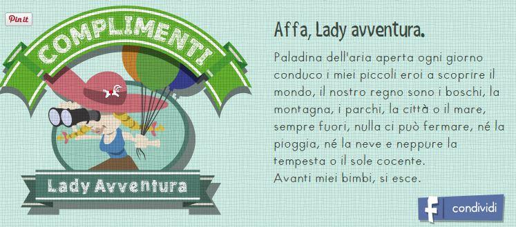 family test lady avventura