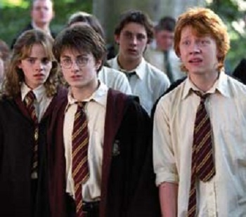 harry potter in cravatta