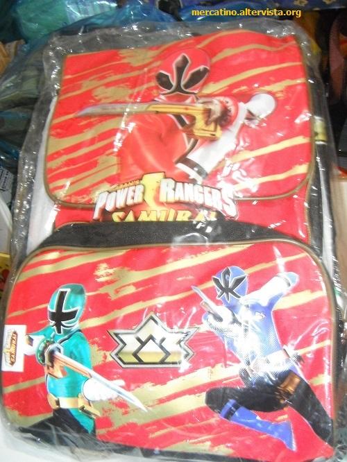 Zaino e astuccio Power Rangers  45 euro