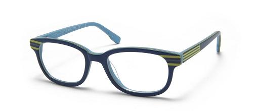 occhiali blu Benetton