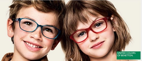 occhiali per bambini benetton