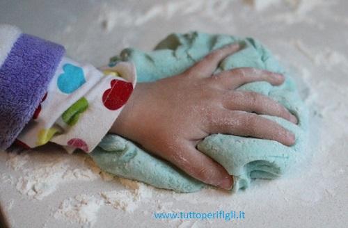 preparare la plastilina in casa