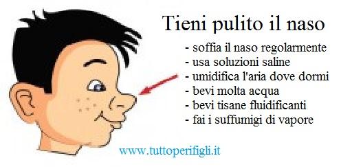 tieni pulito il naso