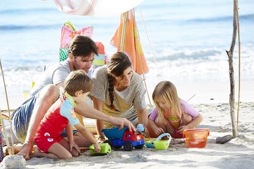 Vacanze al mare in famiglia
