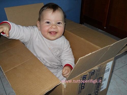 sorpresa dalla scatola
