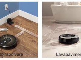 robot per pulire