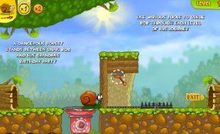 videogame snail bob