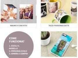 oggetti personalizzati con foto