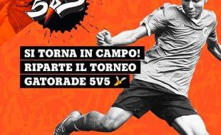 GATORADE 5V5 torneo di calcio a 5 per ragazzi
